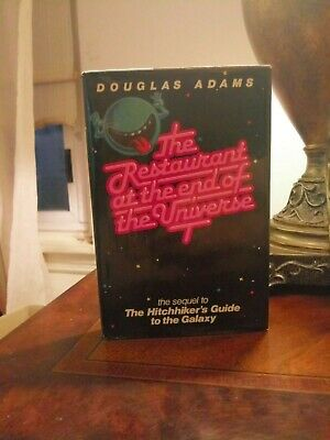 Douglas Adams The Restaurant At The End Of The Universe First Edition 1st Printi
