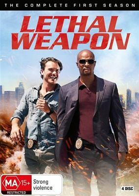 Lethal Weapon Complete First Season 1 One DVD NEW Region 4