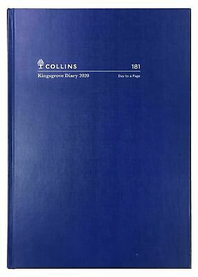 2020 Diary◉COLLINS◉Kingsgrove◉A5 Day to a Page◉DTP◉Hardcover◉181.P59-20◉Blue◉Oz◉