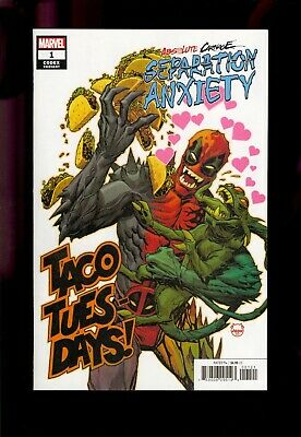 Absolute Carnage Separation Anxiety #1 1:25 Variant Nm Unread Copy  Comic Kings