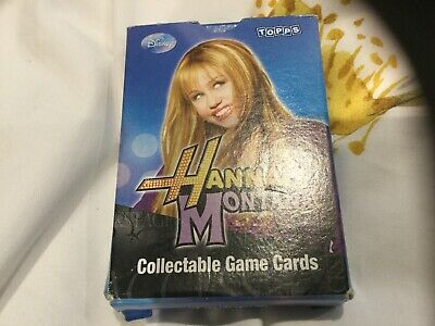 Topps Hannah Montana - Box Of Collectable Game Cards