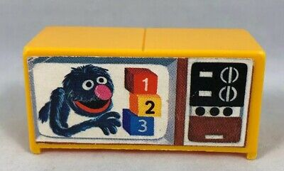 TV Television Play Family Sesame Street Fisher Price Little People 938 Vintage
