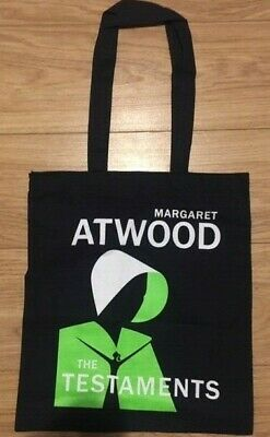Margaret Atwood The Testaments promo tote bag New