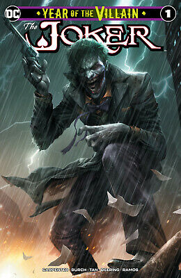 JOKER YEAR OF THE VILLAIN 1 DC Francesco Mattina Variant John Carpenter Batman