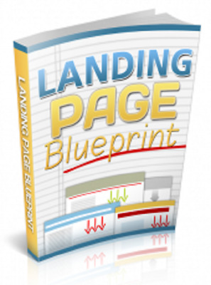 Landing Page Blueprint PDF eBook with Private Label Rights PLR