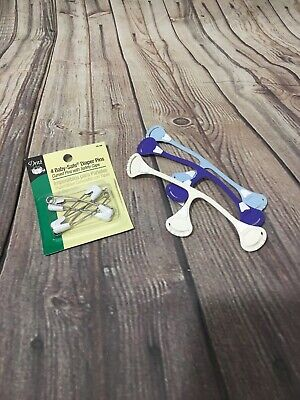 Snappi And Diaper Pin Lot For Cloth Diapering Safety Closure