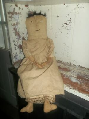 Primitive Handmade Folk Art Doll   *Alice*