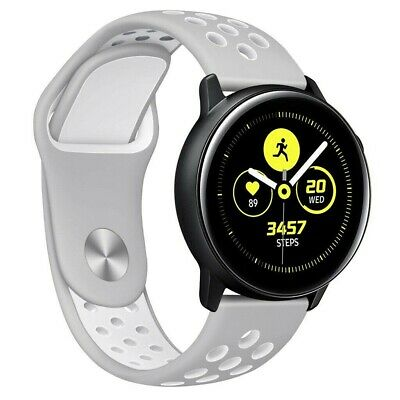 Silicone Replacement Sport Soft Wrist Band Strap For Samsung Galaxy Watch Active