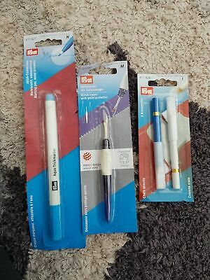 Set of PRYM Accessories Stitch Ripper, Chalk Pencils & Marking Pen