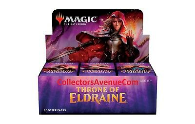 THRONE OF ELDRAINE Booster Box MTG MAGIC - SEALED English - CollectorsAvenueCom