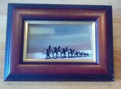 MOVEABLE SAND ART vintage collectables curios antique house clearance old retro