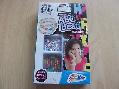 Create Your Own Abc Bead Bracelets. Never Been Opened.