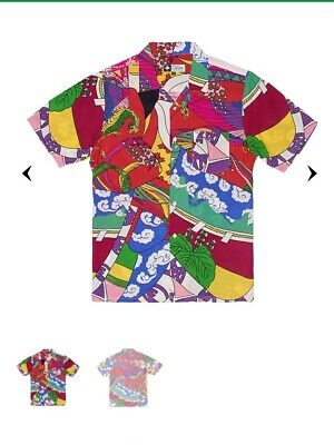 Lrg lifted research group Shirt paradise woven size small sold out