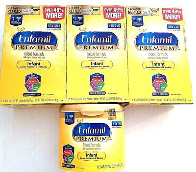 Enfamil Premium Infant Formula Milk-based Powder with Iron - case