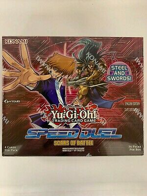 Yu-Gi-Oh! - Speed Duel: Scars of Battle - Booster Box - Sealed - 1st Edition - E