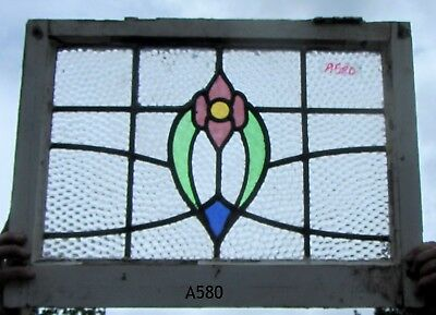 A580 Stained glass    Ca 1900s