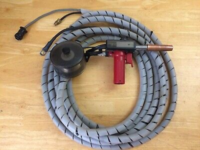 Lincoln Magnum SG MIG Welding Spool Gun Nice Condition Includes Aluminum Spool