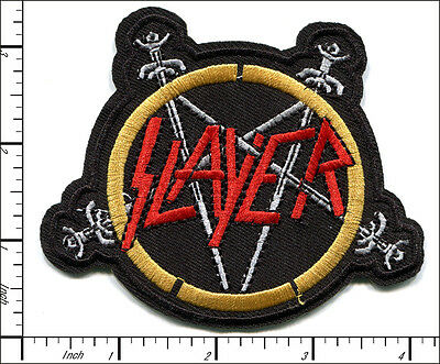 20 Pcs Embroidered Iron/Sew on patches Slayer Band Music AP056vA