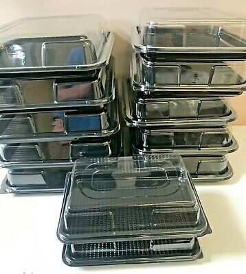 12 Party Pack - 5 Medium Sandwich Platters, 5 Buffet Platters, 2 Catering Trays