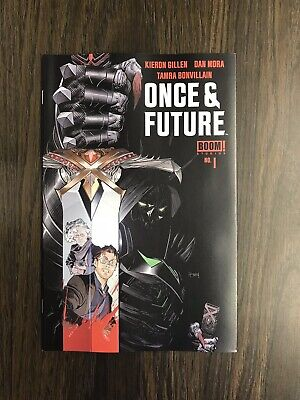 Once And Future #1 (2019) Boom! Studios First Printing Cover A Mora Gillen