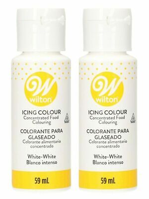 Wilton White Icing food colouring for buttercream - Whitener - 59ml x 2