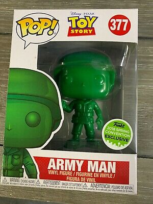 Funko POP! Army Man #377 2018 ECCC Spring Convention Toy Story Disney Pixar