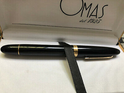 OMAS EXTRA OGIVA 14 kt. modello grande fountain pen oversize unused
