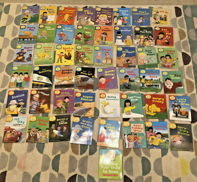 Oxford Reading Tree Read with Biff, Chip and kipper books Level 1-6 (49 books)