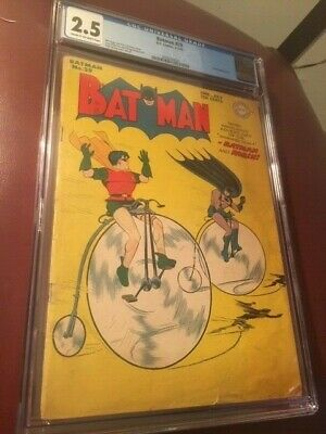 Batman #29 RARE comic book golden age CGC 2.5! Bargain!