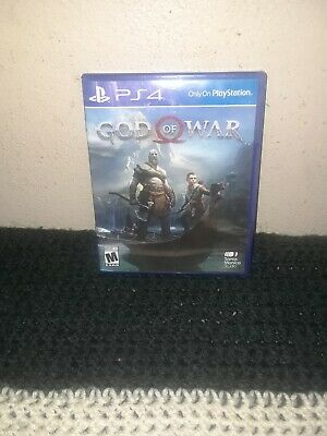 God of War (Sony PlayStation 4, 2018) PS4 Complete game VG