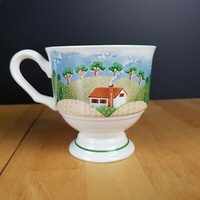 Orval Creations XL Cup Coffee Tea Large Mug Cottage Floral Shabby Chic 400ml