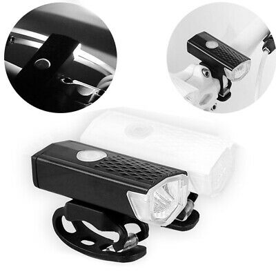 Waterproof Cycling Bicycle LED Lamp USB Rechargeable Bike Head Front Light Torch