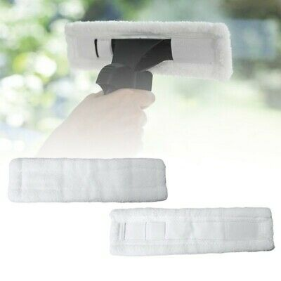 2pcs For Karcher WV50 Glass Window Cleaner Window Vac Cleaning Cloth Pads Pack