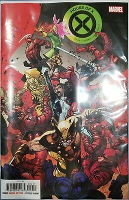 House Of X #4 Cover A Regular Pepe Larraz Cover Jonathan Hickman VF/NM 9/4/19