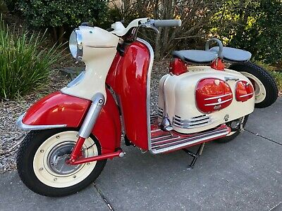 Puch SRA150 Vintage Motor Scooter 1963