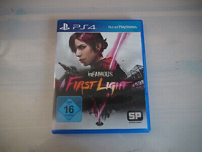 inFamous: First Light PS4 2014 Spiel Second Son