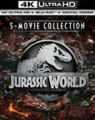 JURASSIC WORLD 5MOVIE COLLECTION (Region Free UHD BluRay,US Import,sealed.)