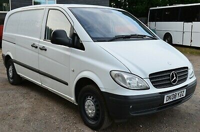 SOLD NOW, 2008 MERCEDES VITO 109 CDI COMPACT, GENUINE 99k, 11 MTHS MOT, 1 OWNER