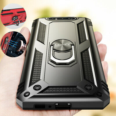 For Samsung A50 A20 A10 A70 A30 Heavy Duty Shockproof Case 360 Ring Holder Cover