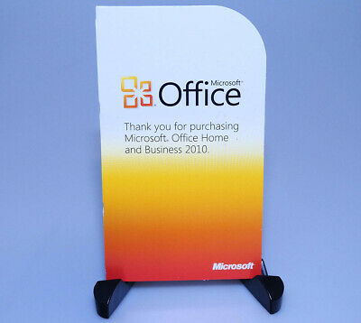 Microsoft Office Home & Business 2010 GENUINE full version Product Key Card PKC