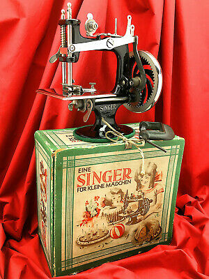 SINGER SEWHANDY 20 1920-1930's Child Toy Sewing Machine 20-1 Restored by 3FTERS