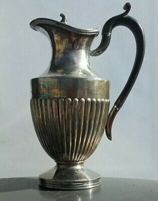 Vintage Antique Silver Plate Hot Water Jug In Very Nice Condition