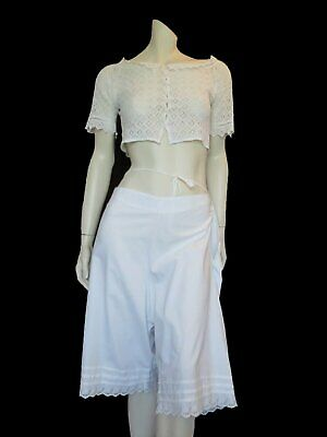 Antique Edwardian Drawers, Knickers, Culottes - Large