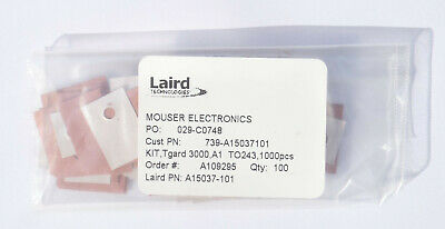 Laird Tgard 3000 heatsink pads for TO-220 etc, pack of 100
