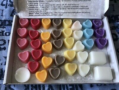 Box of Tart Melts From Blackwater Candles