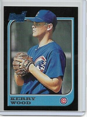 1997 Bowman #196 Kerry Wood Chicago Cubs RC Rookie Baseball Card