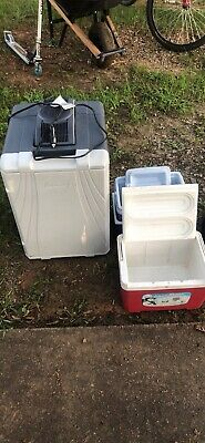 Coleman 40 Quart Powerchill Thermoelectric Travel Iceless Cooler 3000001497