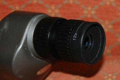 Centon 12-50X50 Spotting Scope With Hard And Soft Case.
