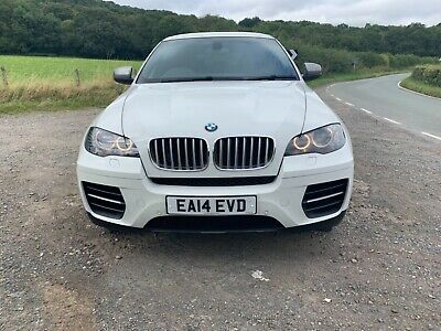 2014 BMW X6 M50d Damaged Repaired