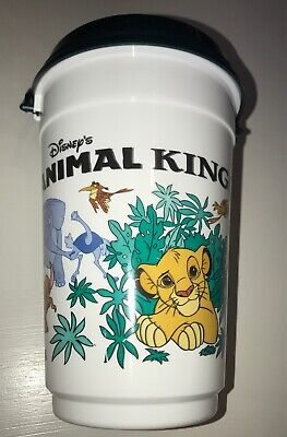 Lion King Disney World Animal Kingdom Popcorn Bucket 2003 Simba Pumbaa Rafiki